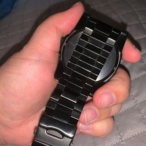 Nixon black men's watch- great condition